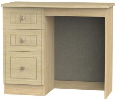 Warwick Oak Single Pedestal Dressing Table