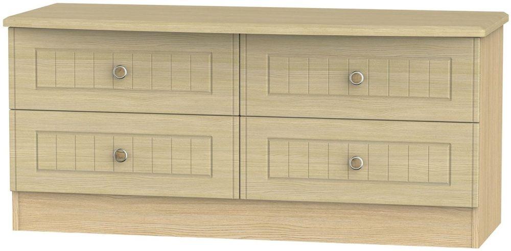 Warwick Oak Bed Box