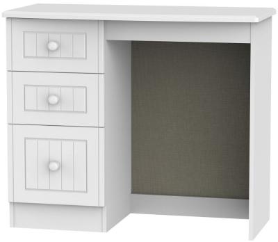 Warwick White Dressing Table - Vanity Knee Hole