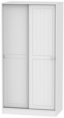 Warwick White 2 Door Sliding Wardrobe