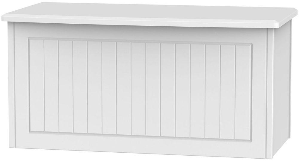 Warwick White Blanket Box