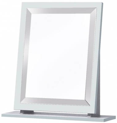 Clearance Kingston White Mirror - Small