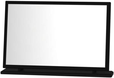 Clearance Knightsbridge Black Mirror - Large