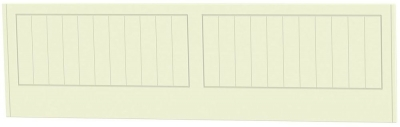 Clearance Warwick Cream Headboard - 3ft Single - G376