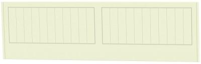 Clearance Warwick Cream and Oak Headboard - 3ft Single - G373
