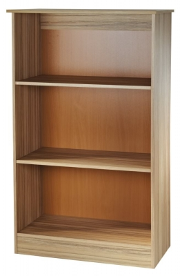 Clearance Welcome Living Room Furniture Cocobolo Bookcase - 2 Shelves - G349