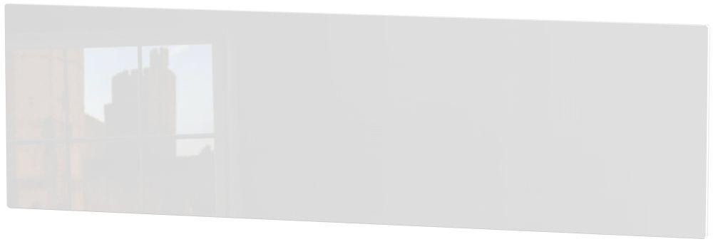 Clearance - Knightsbridge 4ft 6in Double White Headboard - New - FSS9191