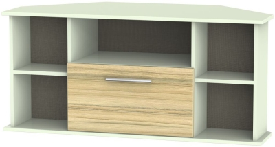 Corner TV Cabinets   Oak TV Cabintes on Sale   CFS UK