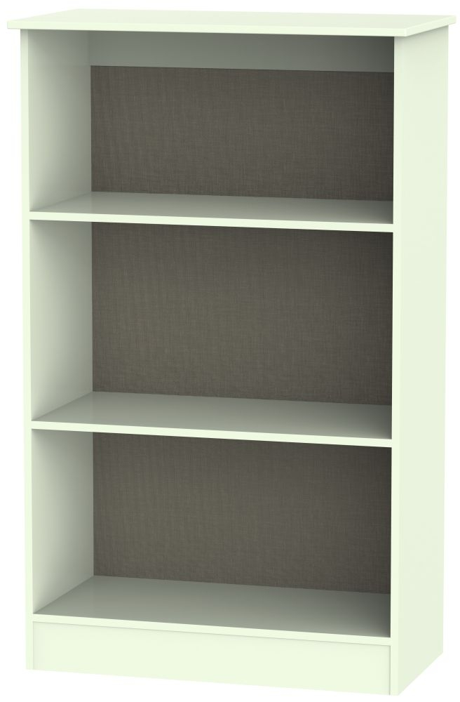 Welcome Living Room Furniture Vanilla Bookcase - 2 Shelves