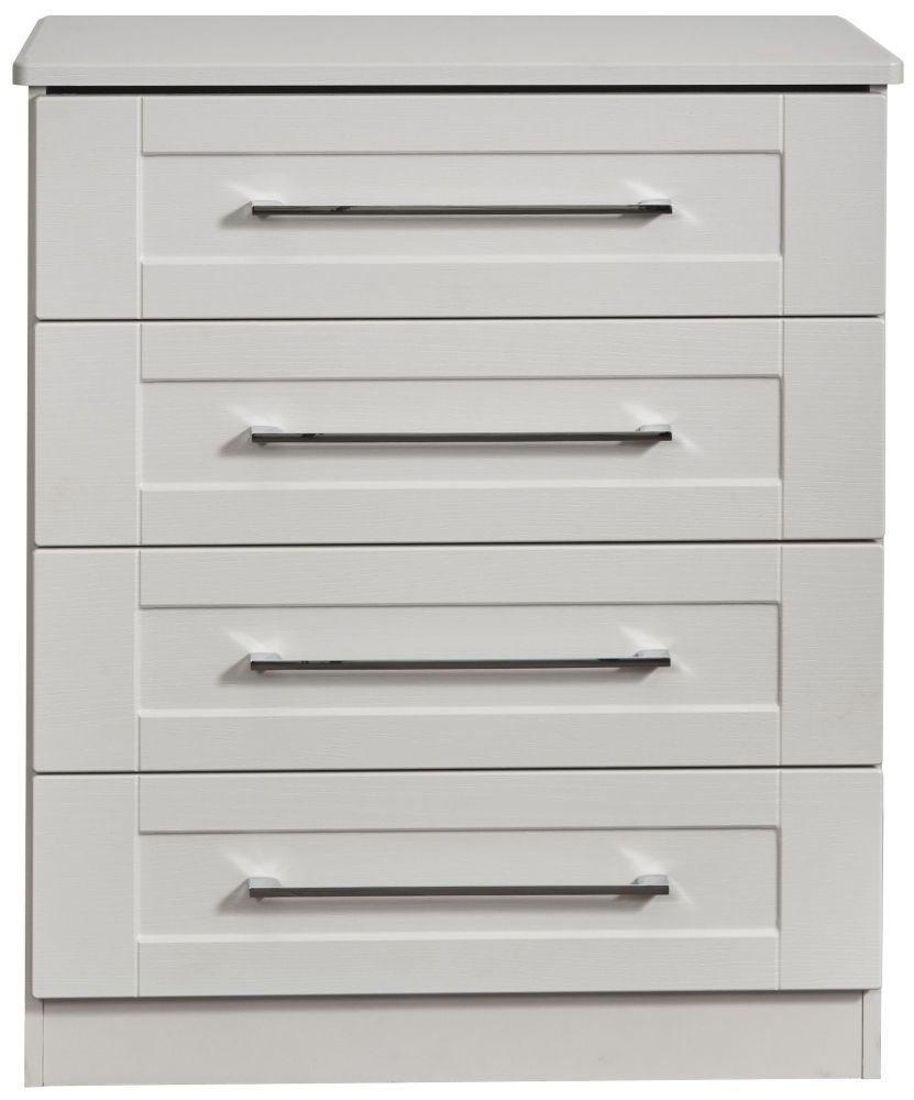 York Grey Ash 4 Drawer Chest