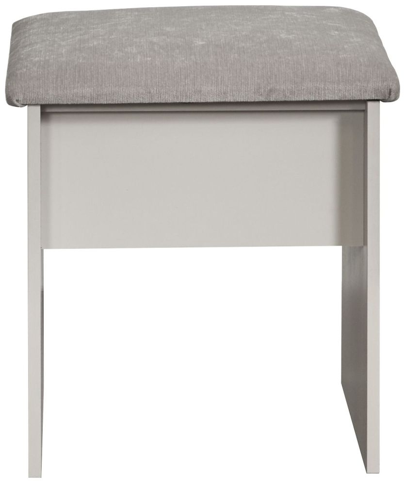 York Grey Ash Stool