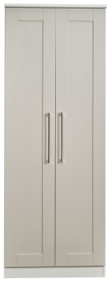 York Kaschmir Ash 2 Door Tall Wardrobe