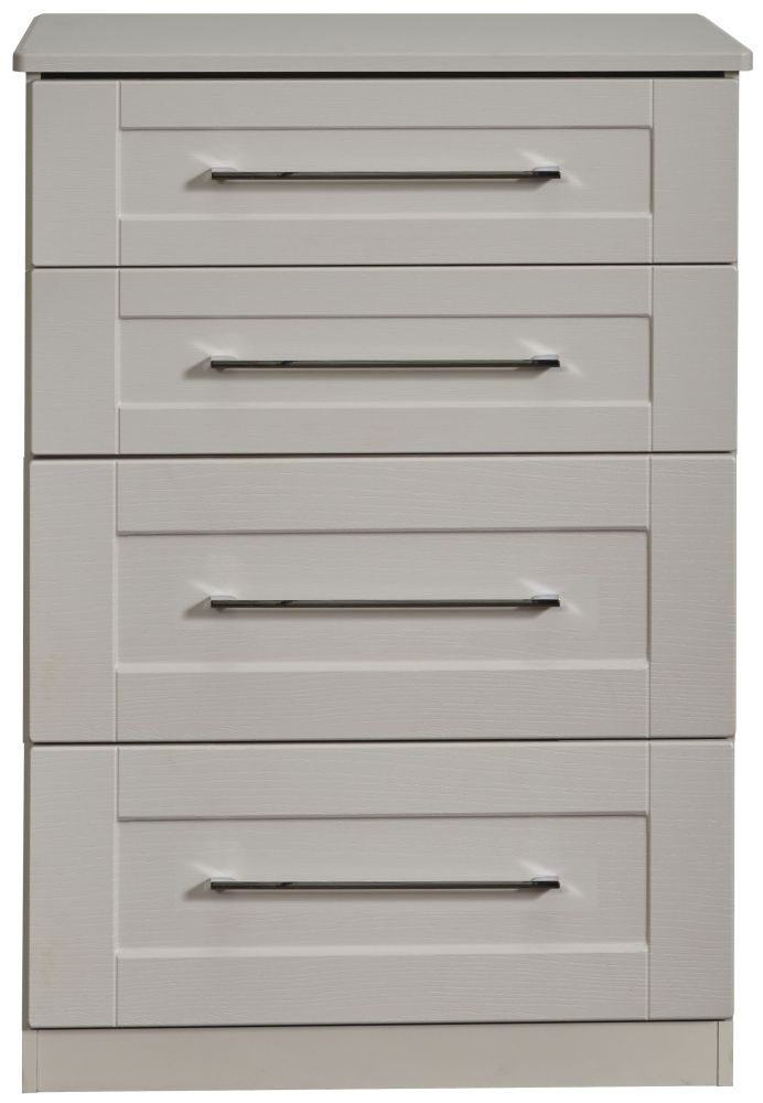 York Kaschmir Ash 4 Drawer Deep Chest
