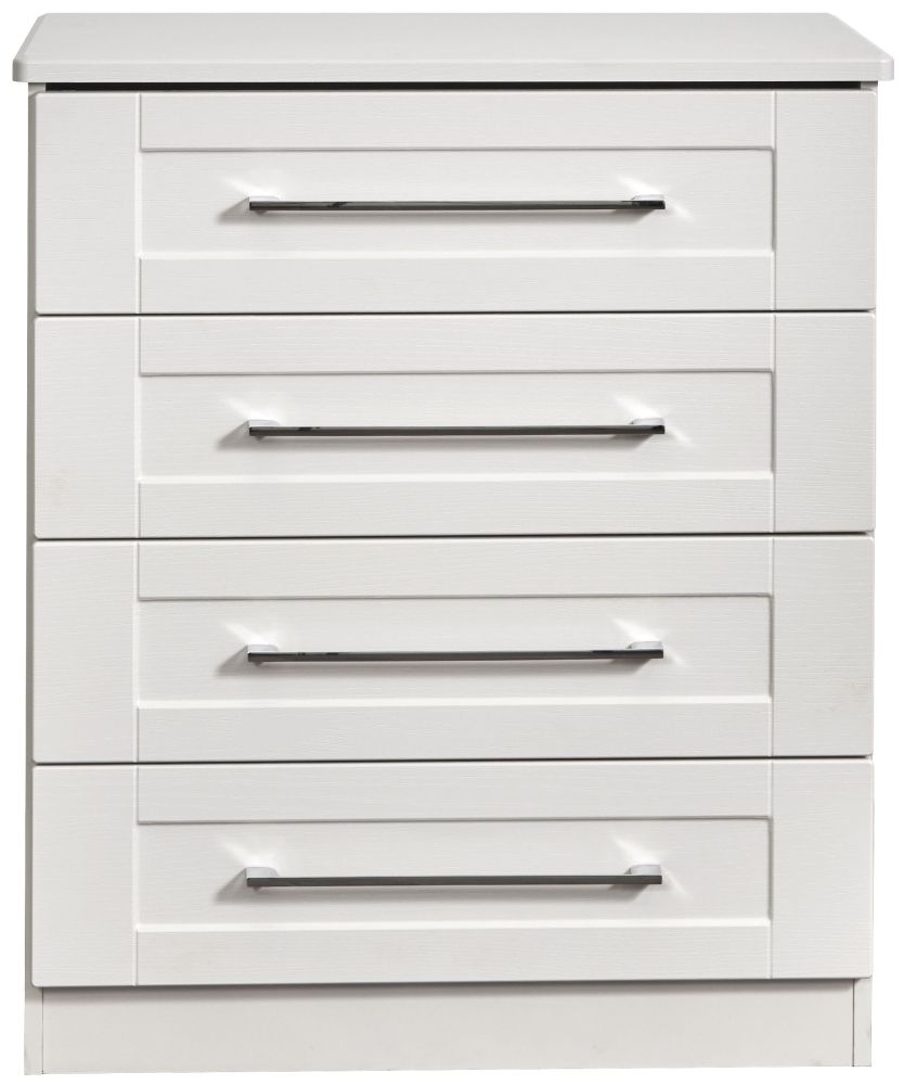 York White Ash 4 Drawer Chest