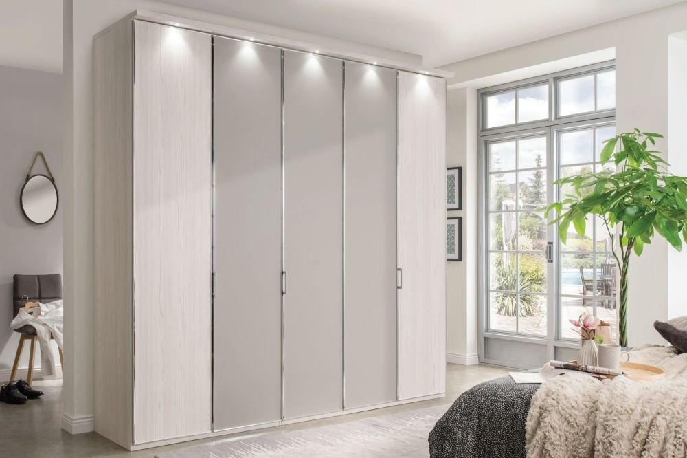 Wiemann All-In Wardrobe with Carcase Color Front