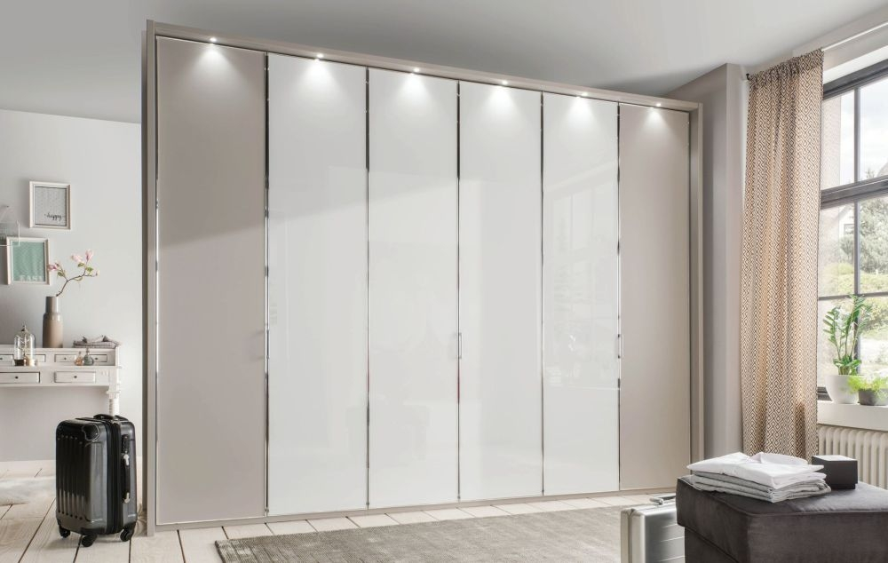 Wiemann All-In Wardrobe with Glass or Crystal Mirror Front