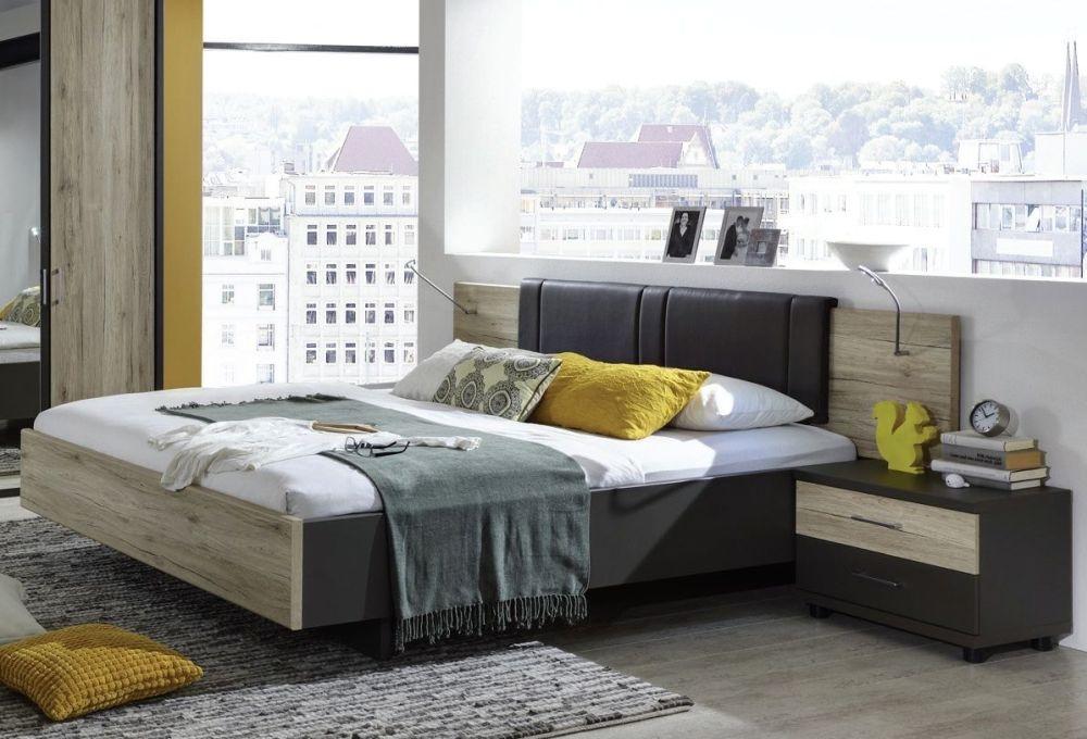 Wiemann Arizona Havana with Santana Oak 5ft King Size Bed - 150cm x 200cm