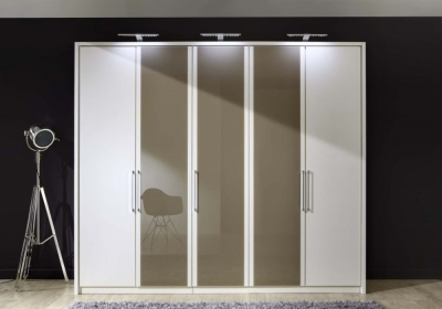 Wiemann Berlin Glass Door Wardrobe
