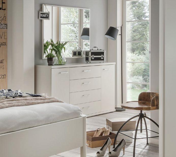 Wiemann Bern Wall Mirror in White