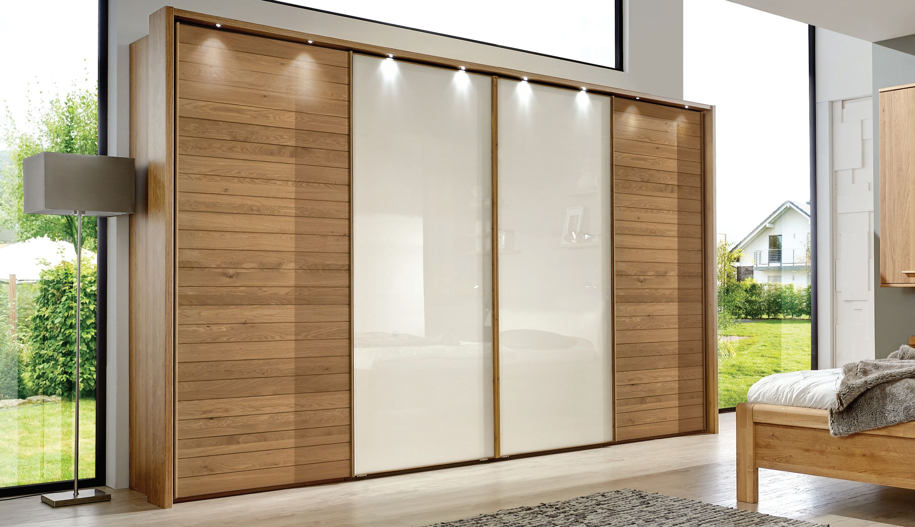 Wiemann Biscaya Sliding Door Wardrobes Without Cornice