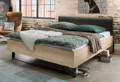 Wiemann Brussels Futon Bed with Faux Leather Upholstered Headboard