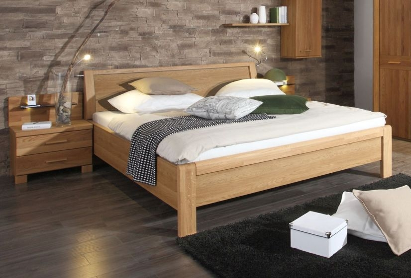 Wiemann Faro 5ft King Size Bed in Oak - 160cm x 200cm