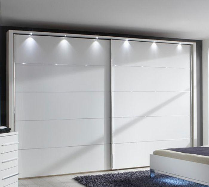 Wiemann Hollywood4 2 Door Sliding Wardrobe in White - W 300cm