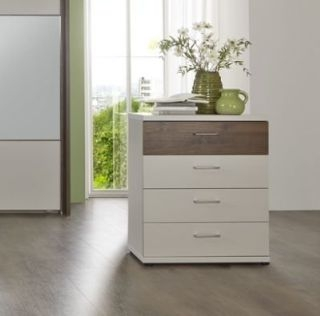 Wiemann Imola 8 Drawer Wide Chest in Champagne and Nocce