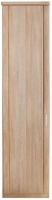 Wiemann Luxor 3+4 1 Left Hand Facing Door Hinged Wardrobe in Rustic Oak - W 33cm