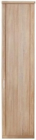 Wiemann Luxor 3+4 1 Right Hand Facing Door Hinged Wardrobe in Rustic Oak - W 50cm