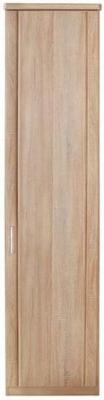 Wiemann Luxor 3+4 1 Right Hand Facing Door Hinged Wardrobe in Rustic Oak - W 50cm
