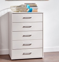 Wiemann Lyon 5 Drawer Chest in Champagne - W 40cm