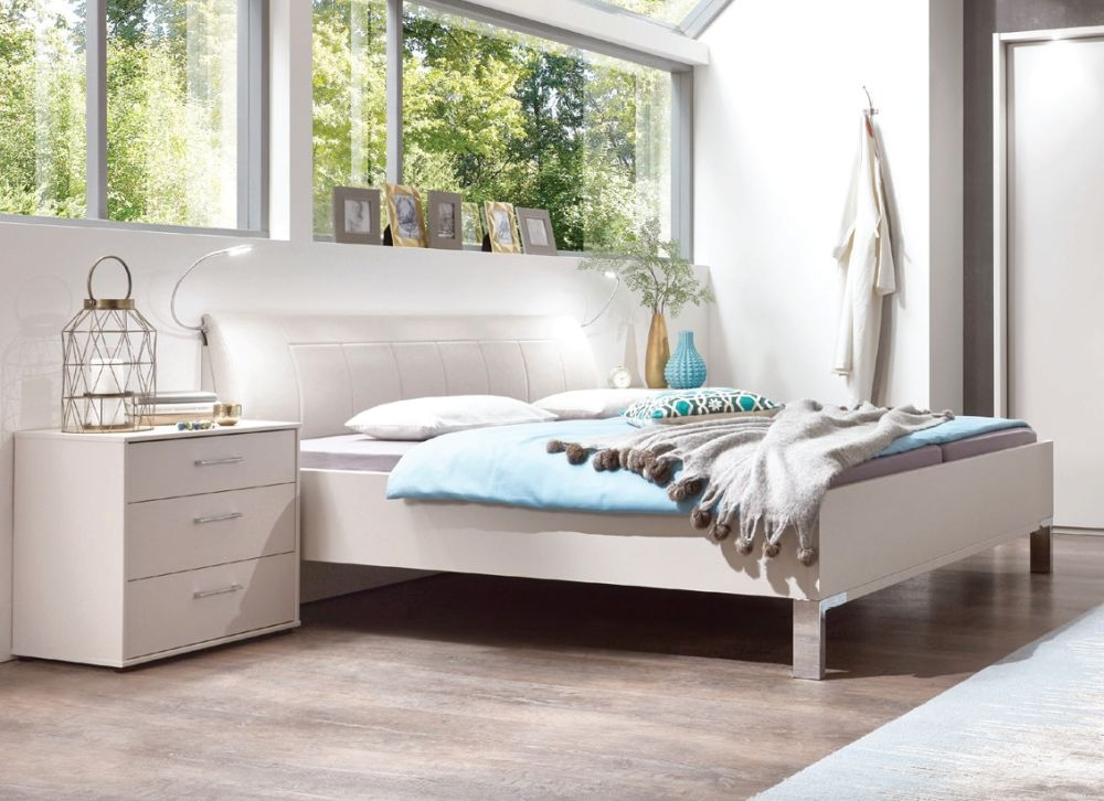 Wiemann Lyon 5ft King Size Bed in Champagne - 150cm x 200cm