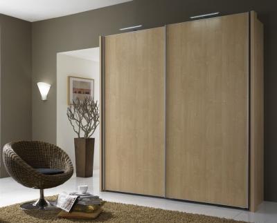 Wiemann Miami 2 Door Wardrobe in Oak - W 200cm