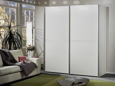 Wiemann Miami 2 Door Wardrobe in White - W 200cm
