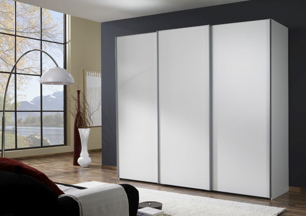 Wiemann Miami 3 Door Sliding Wardrobe in White - W 280cm