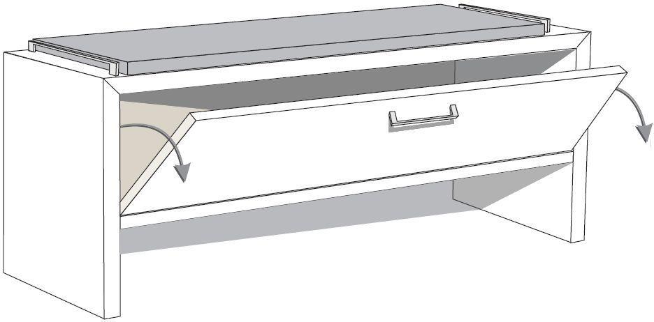 Wiemann Miro Dressing Bench