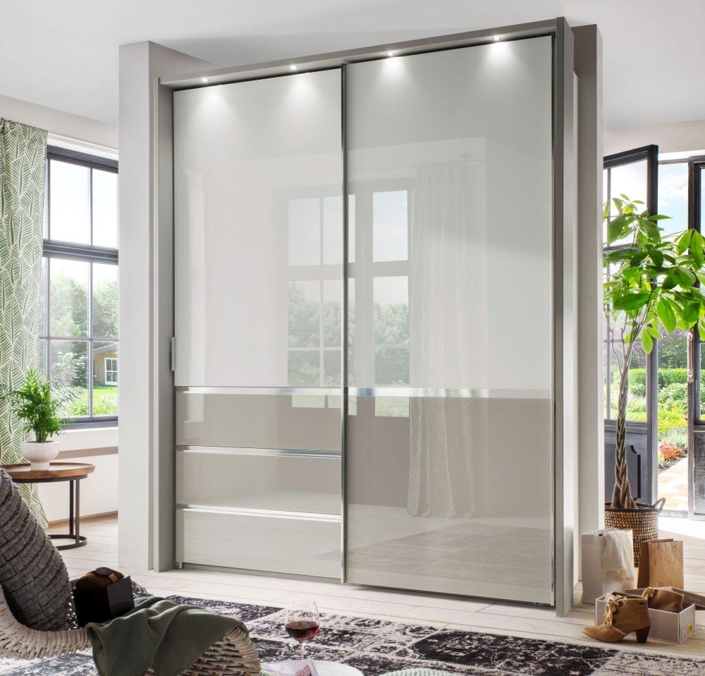 Wiemann Misura 2 Door with 2 Panel Sliding Wardrobe