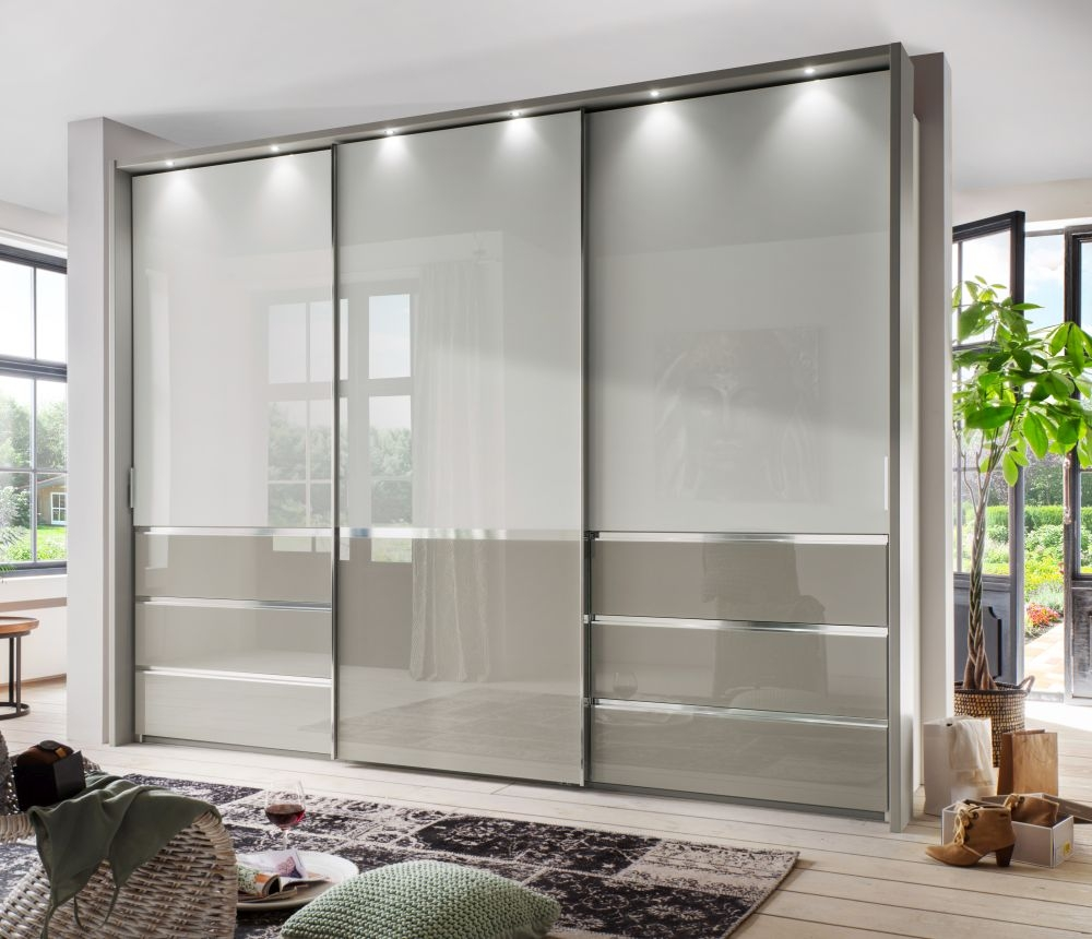 Wiemann Misura 3 Door with 3 Panel Sliding Wardrobe