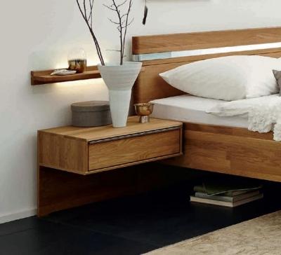 Wiemann Savona 1 Drawer Bedside Cabinet in Oak