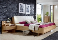 Wiemann Serena Futon Bed with Magnolia Cushion Headboard