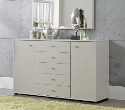 Wiemann Sunset 5 Drawer Large Chest in Champagne