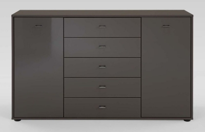 Wiemann Tokio 2 Door 5 Drawer Combination Dresser
