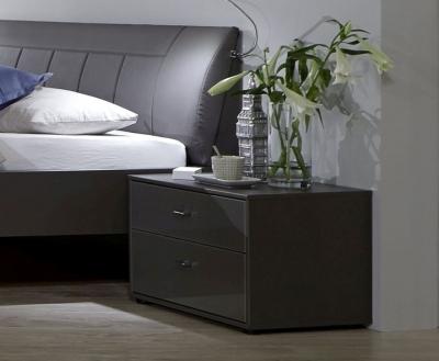 Wiemann VIP Eastside 3 Drawer Bedside Cabinet in Havana - W 60cm