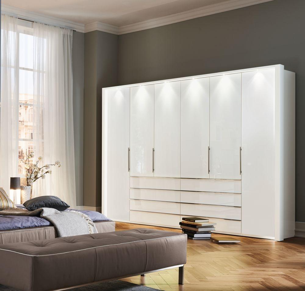 Wiemann VIP Scarlett Bi-fold Panorama Door Functional Wardrobe without Open Recess