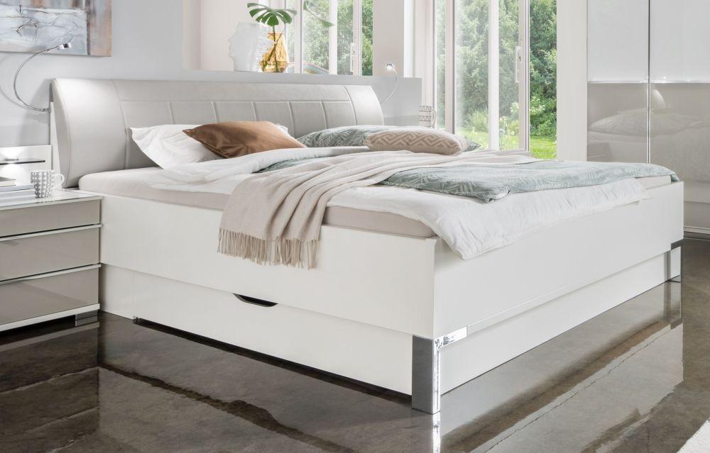 Wiemann VIP Shanghai 2 Futon Bed with Faux Leather Cushion Headboard