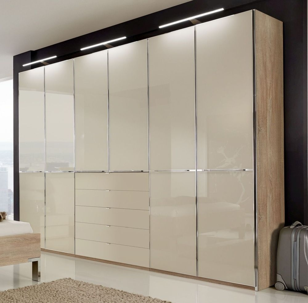 Wiemann VIP Shanghai Wardrobe with Chrome Color Cross Trim