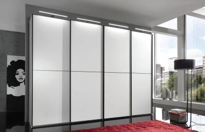 Wiemann VIP Westside 3 Door Sliding Wardrobe in White - W 250cm