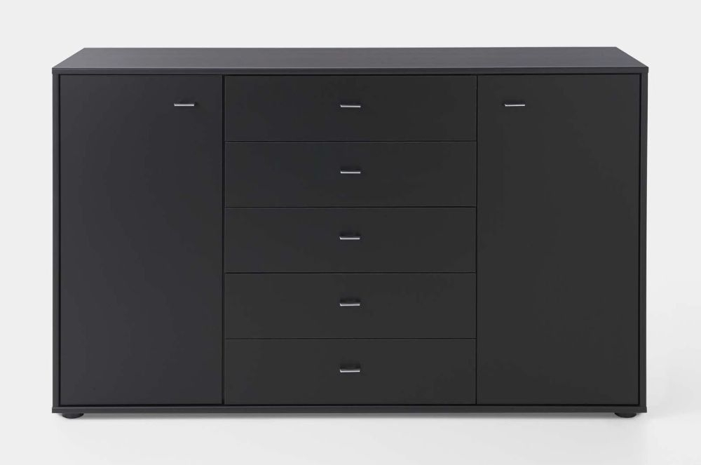 Wiemann VIP Westside 2 Door Dresser in Black