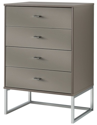 Wiemann Vigo 4 Drawer Chest in Havana - W 60cm